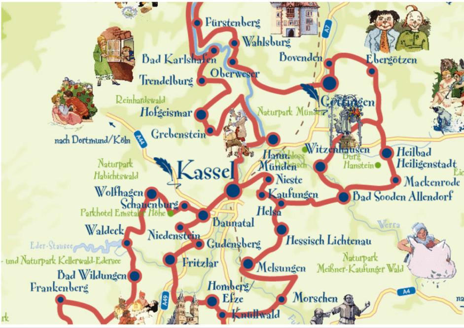 Ruta-cuentos-hermanos-Grimm-Alemania-con-niños