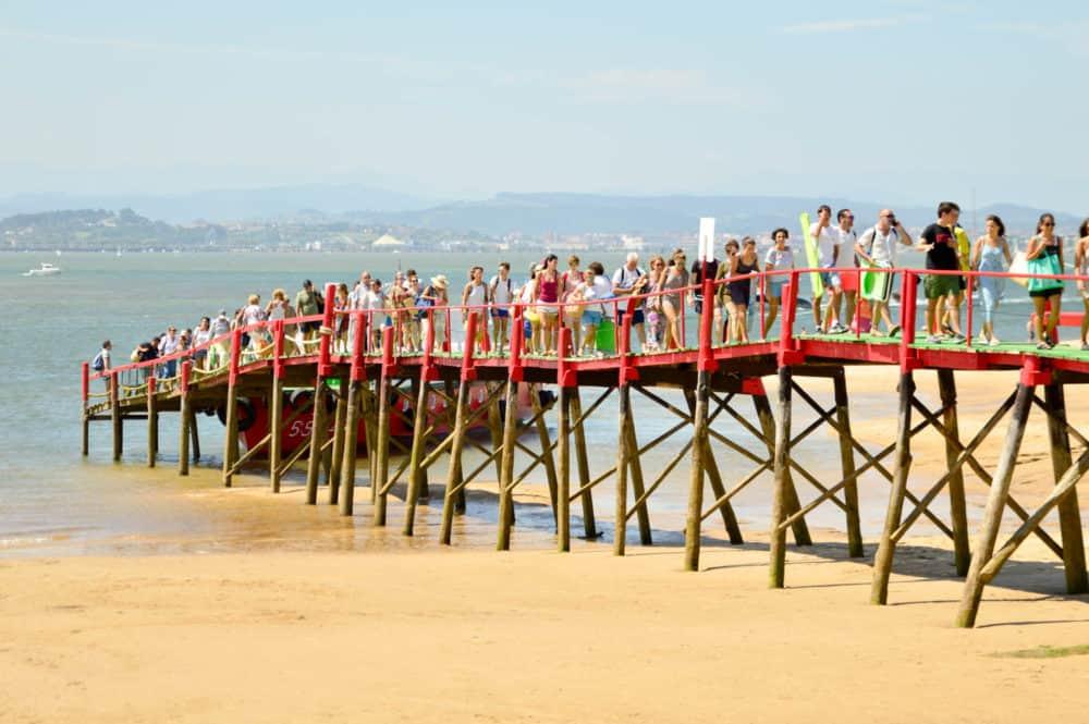 El-Puntal-Playa-en-Santander-Cantabria-Viajar