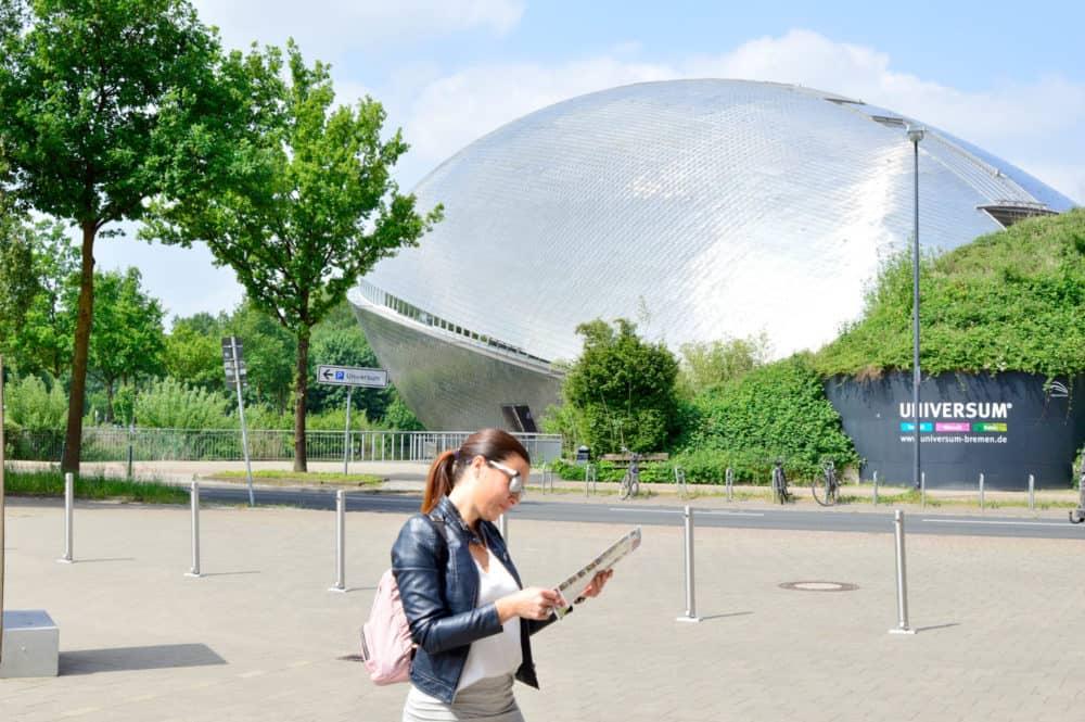 Universum-Cemtrum-planes-con-los-niños-en-Bremen-Alemania-Viajar