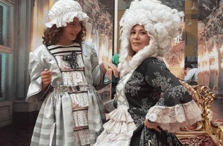 Siéntete Sissi Emperatriz en el Kindermuseum de Viena. Austria