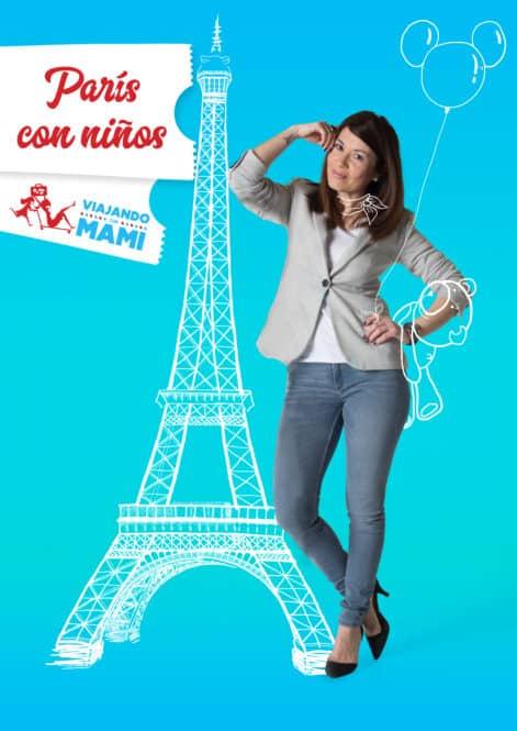 París con niños. Un eBook para disfrutarlo en familia. Europa