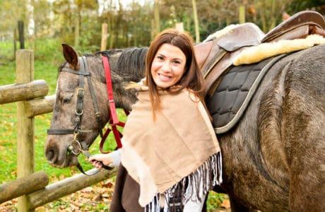 Desconecta del mundo paseando a caballo. Planes en familia. Bizkaia