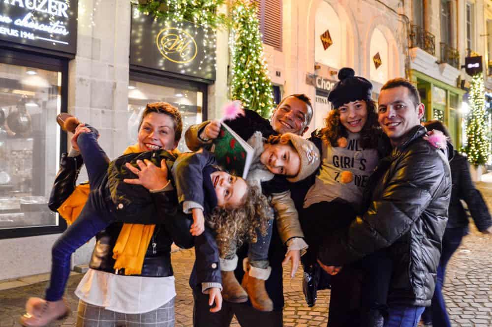 Bayonne, iluminada este año más que nunca por Navidad Bayona