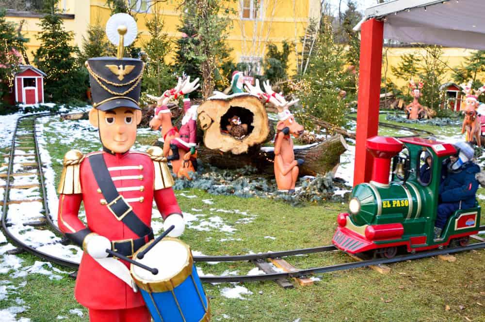 Mercado de Navidad en el Palacio Hellbrunn. Salzburgo con niños. Austria