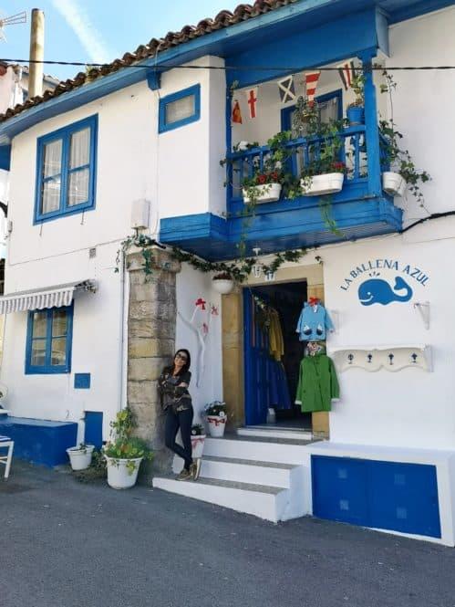 Tienda en Tazones, Asturias