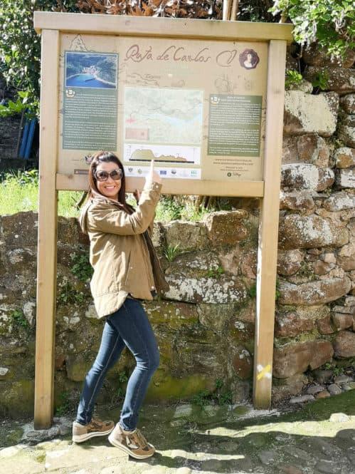 Ruta Carlos V desde Tazones en Asturias