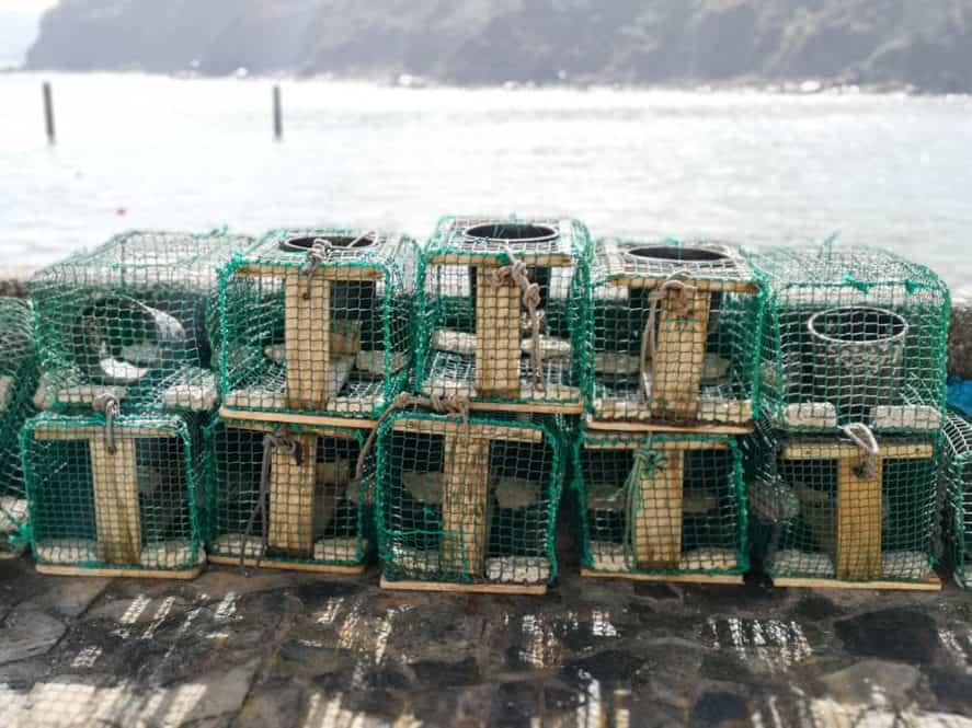 puerto de Tazones en Asturias