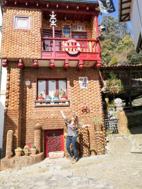 vivienda de las Conchas en Tazones Asturias