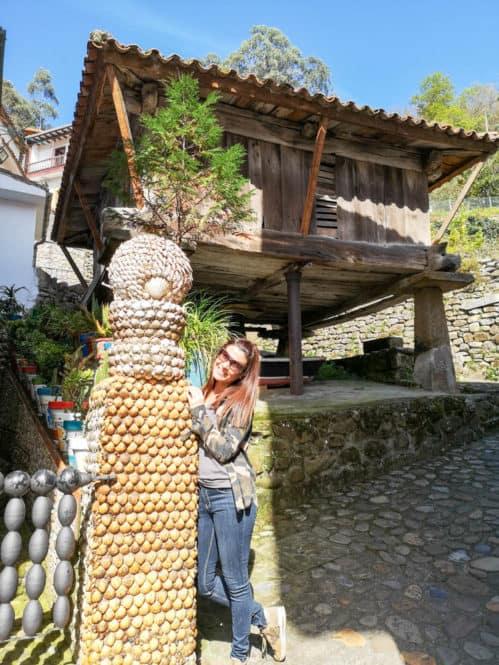 Hórreo de Tazones en Asturias