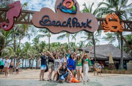 El parque acuático más grande de latinoamérica. BeachPark en Brasil. América