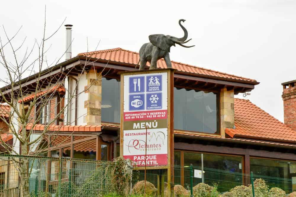 Restaurante en el Parque de Cabárceno en Cantabria
