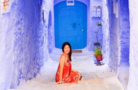 La Ciudad Azul un destino de ensueño. Chefchaouen en Marruecos. África
