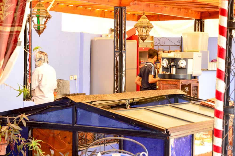 Donde comer en Chefchaouen, la Ciudad Azul de Marruecos. África