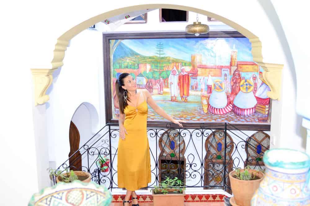 Viajandoconmammi-Viajar-con-niños-Vacaciones-familia-planes-con-niños-Chaouen-Ciudad-Azul-Marruecos-Morocco-Riad-Hotel