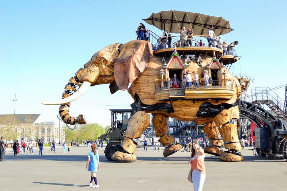 Isla de las Máquinas en Nantes