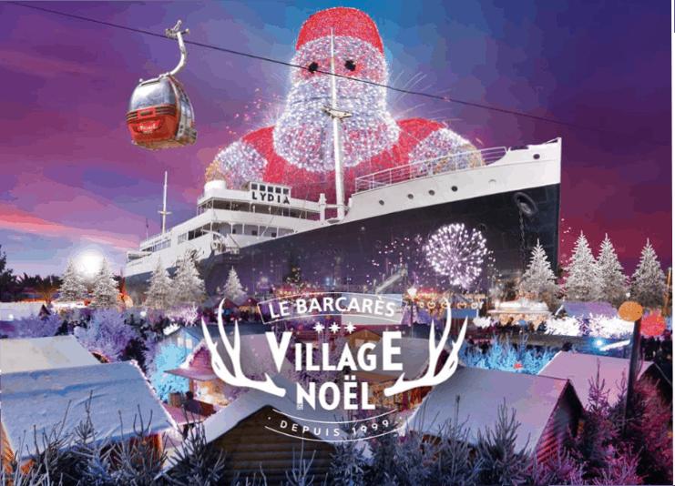 village-de-noel-barcares-Navidad-Sur-de-Francia
