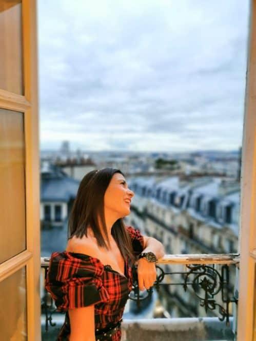 Vistas desde el Hotel Sacré Coeur París