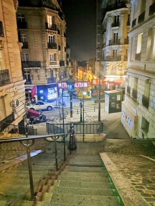 metro Caulaincourt de París