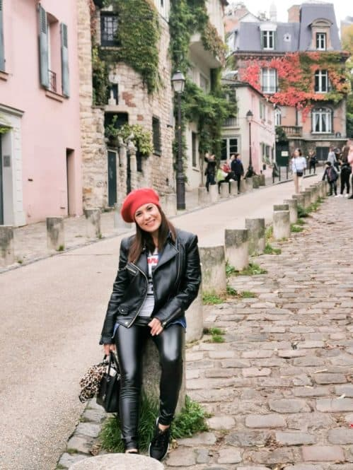 La Maison Rose en Sacre Coeur de París