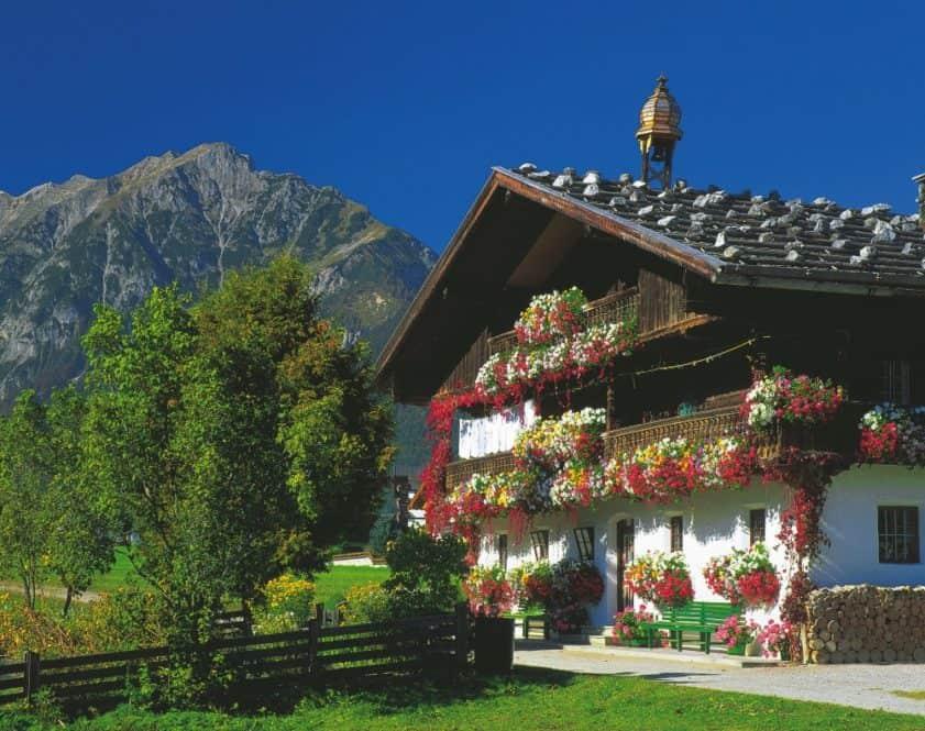 Vacaciones en una granja del Tirol. Austria en familia Austria