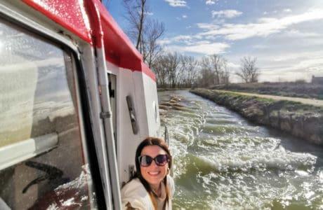 Viajandoconmami-planes-en-familia-Madrid-Tren-del-Canal-de-Castilla-Valladolid