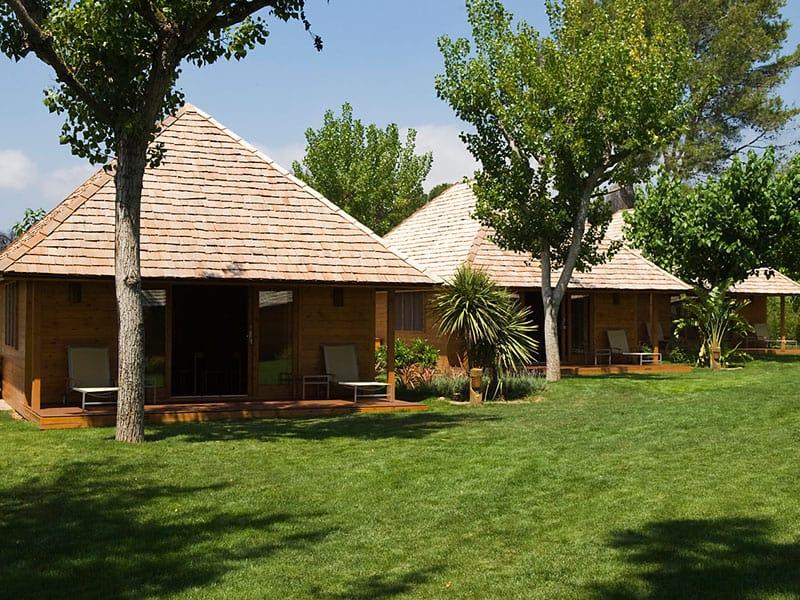 Bungalows en Playa Montroig Camping Resort Tarragona