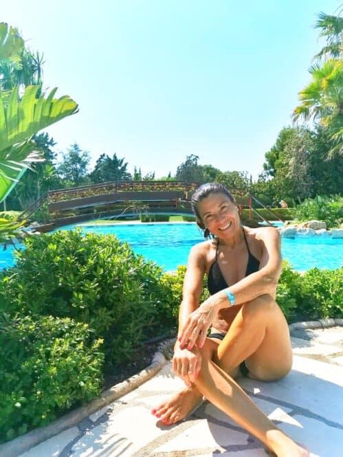 Piscina de Playa Montroig Camping Resort Tarragona