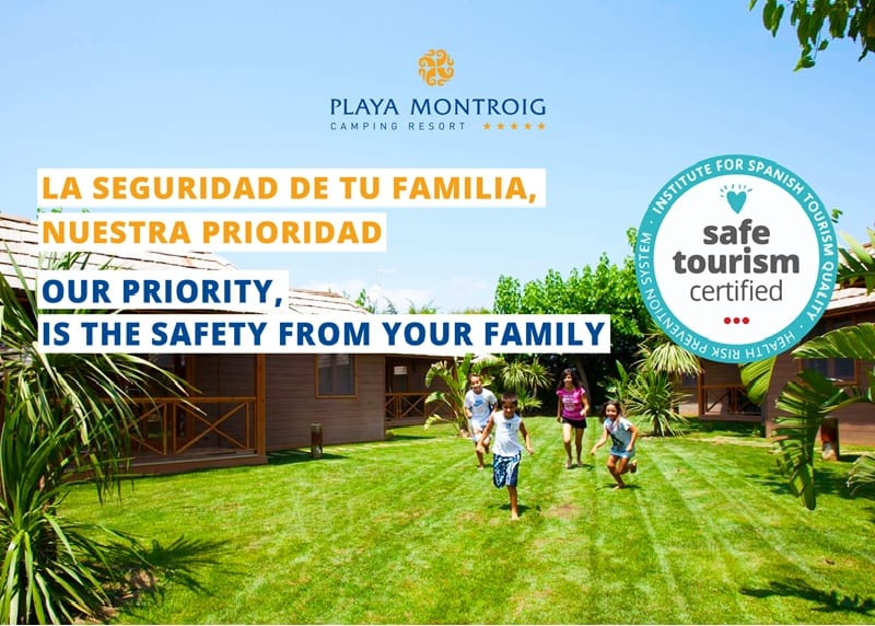 seguridad en Playa Montroig Camping Resort