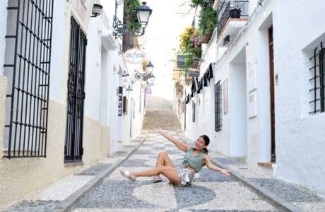 Calle Matjor del Casco Histórico de Altea en Alicante