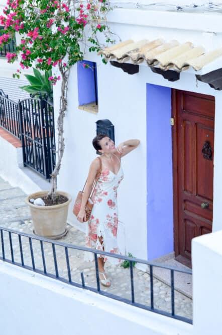 Puertas Azules de las calles de Altea en Alicante