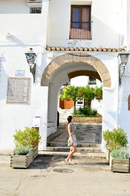 Puerta Vielha de Altea en Alicante
