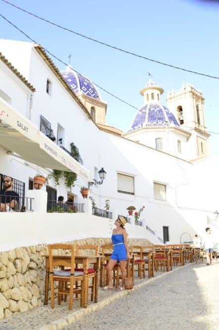 Cafetería en el Centro Histórico de Altea en Alicante