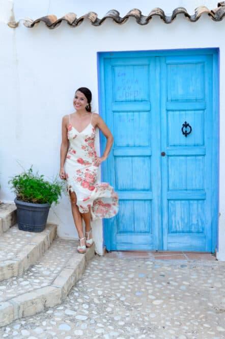 Puerta Azul en Altea, Alicante, Costa Blanca