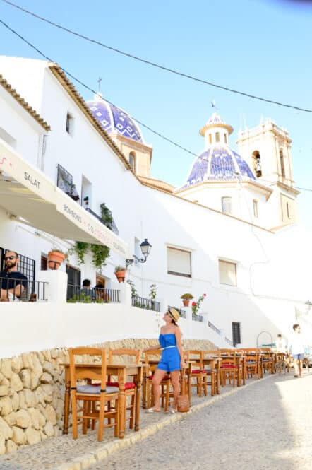 Restaurante de Altea en Alicante