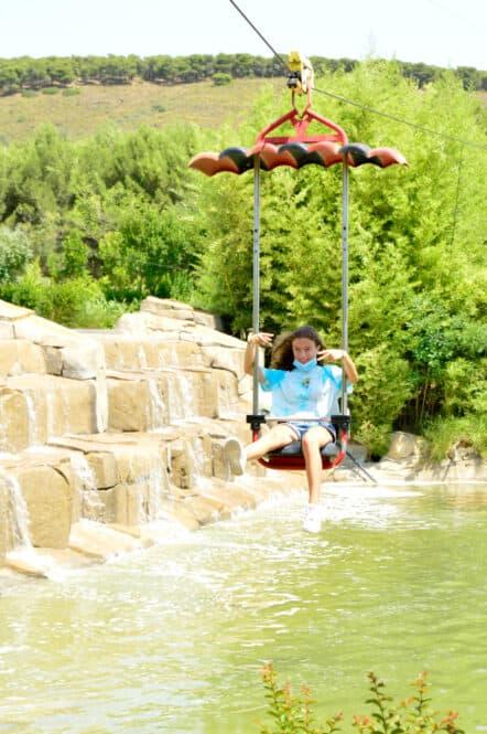Atracción de Parque Temático Senda Viva en Navarra