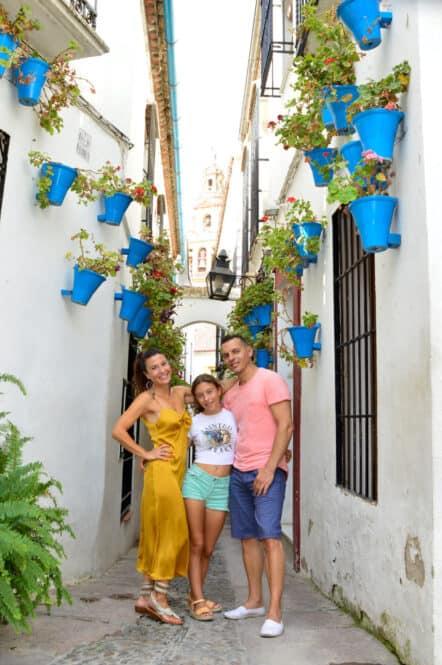 Calle de Córdoba en Andalucía