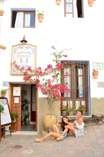 Calle de Mojacar en Almería