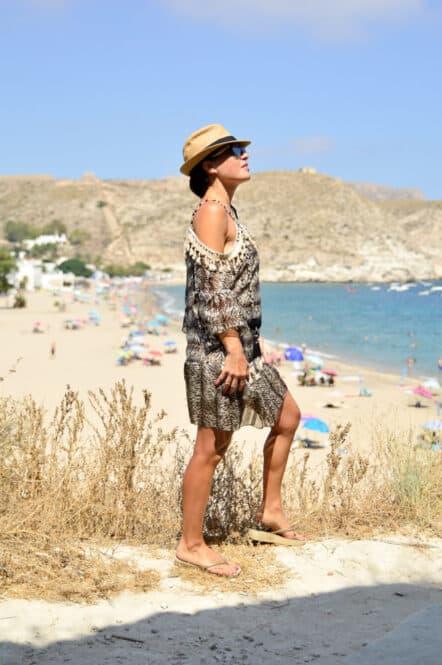 Playa de Agua Amarga en Almería