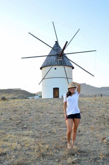 Molino en el Pozo de los Frailes Almería