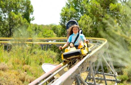 Tobogán Alpino del Parque Temático Senda Viva en Navarra