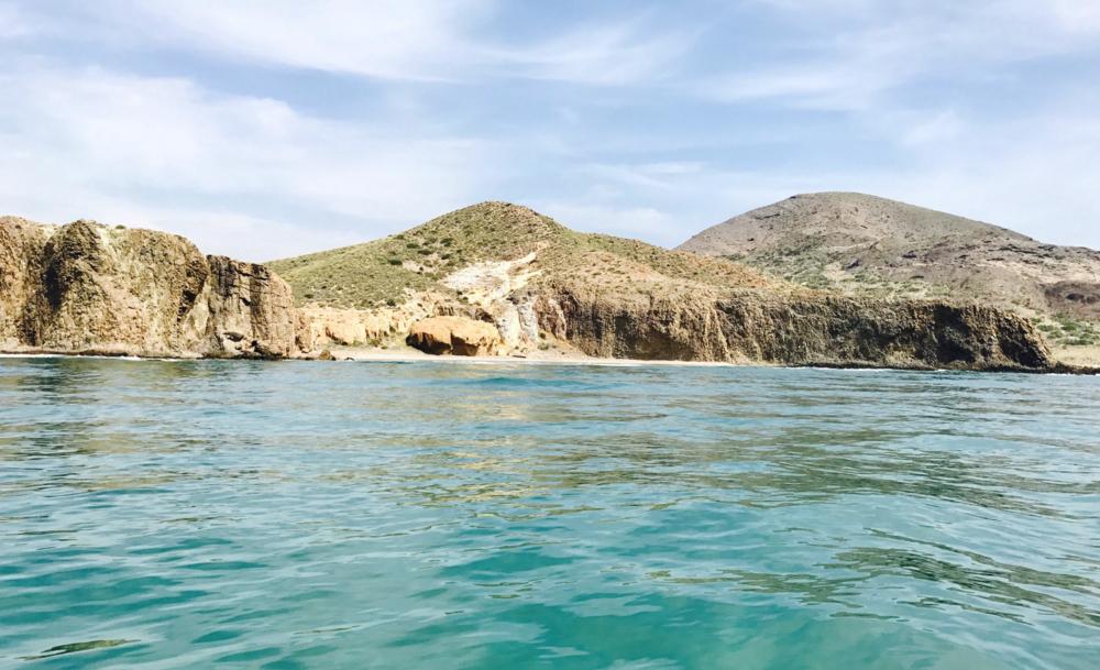 Rolling Almería excursión en barco por Cabo de Gata