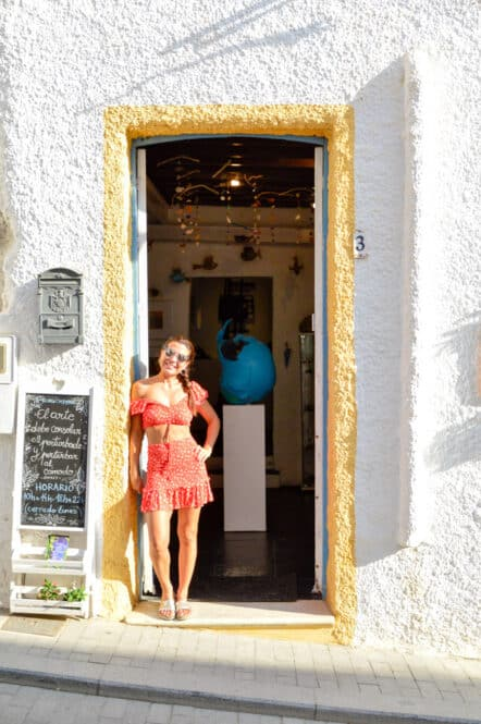 Taller de Sophie en Nijar Almería