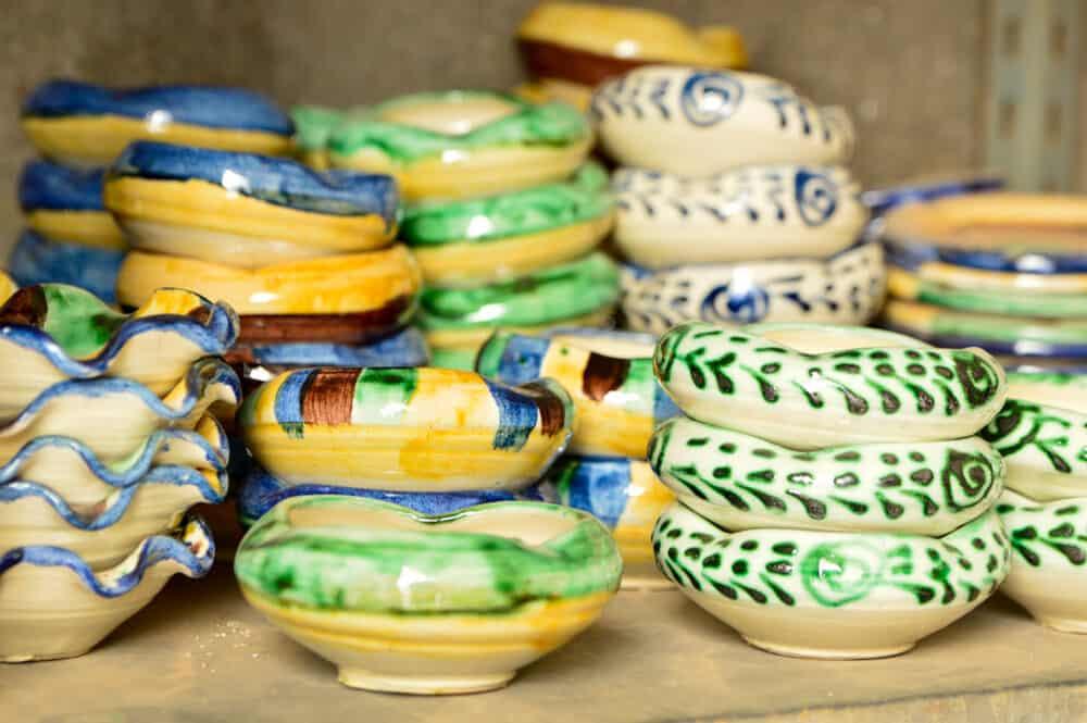 Taller cerámica Rafael Granados en Nijar, Almería