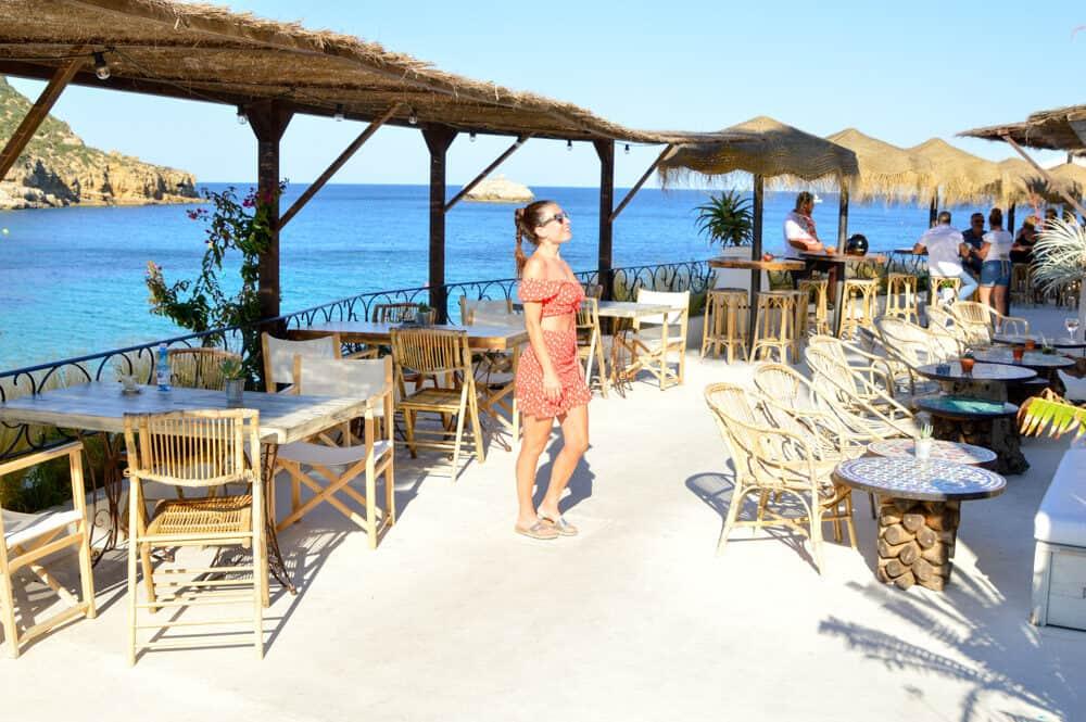 Restaurante Cala Clemence en Javea Alicante