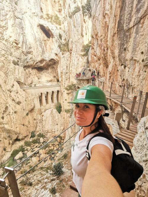 Sendero El Caminito del Rey en Málaga, Andalucía