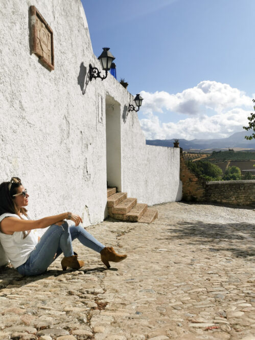 Casco antiguo de Ronda en Málaga, Andalucía