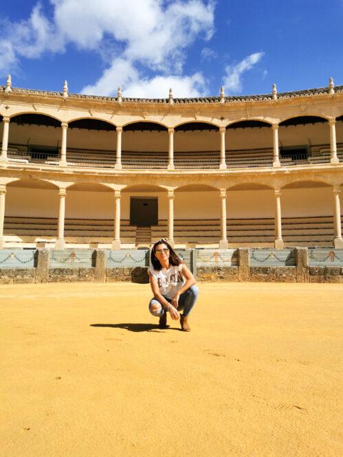 Plaza de Toros de Ronda en Málaga, Andalucía