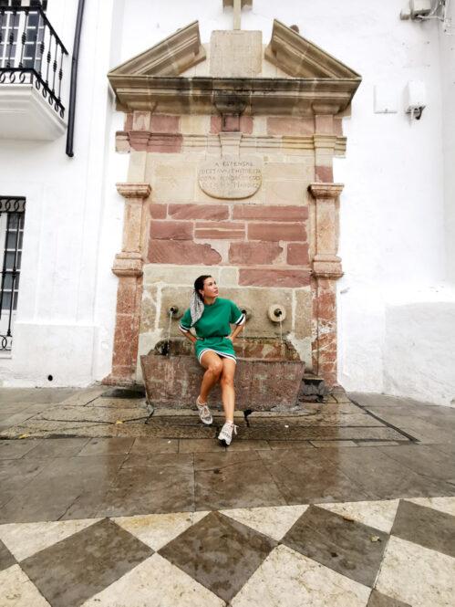 Fuente de Ubrique en Cádiz, Andalucía