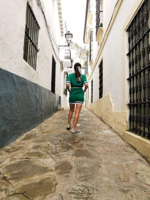 Calle de Ubrique en Cádiz, Andalucía