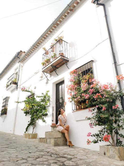 Calle de Grazalema en Cádiz, Andalucía